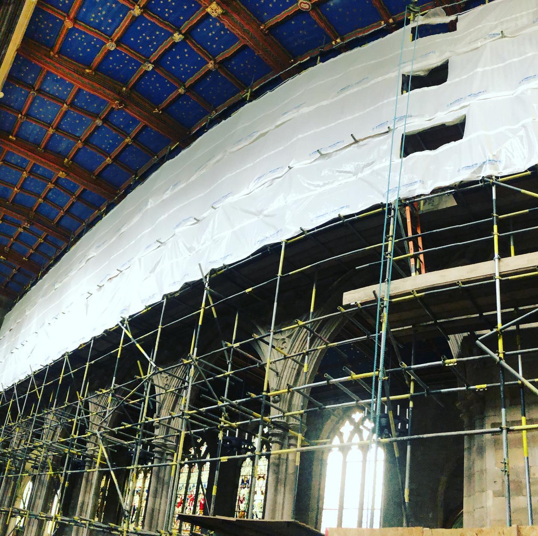 Church Scaffolding - Adsscaffolding.co.uk